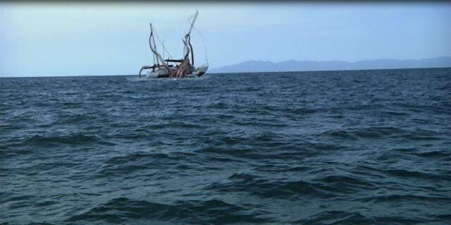 File:S-11 Destroys Boat.jpg