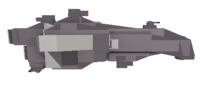 Strike Cruiser side view