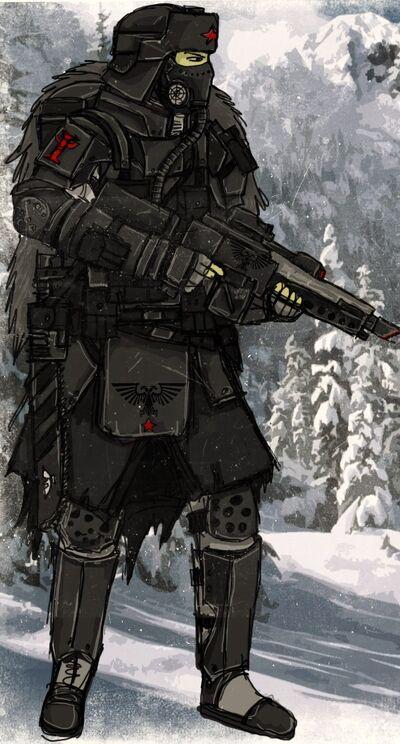 Nividian soldier