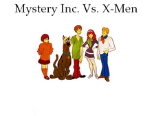 Mystery Inc. Vs. X-Men
