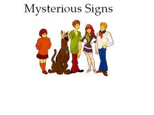 Mysterious Signa