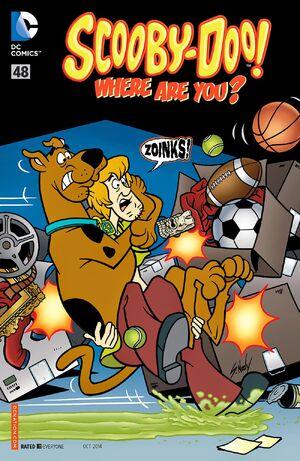 WAY 48 (DC Comics) front cover