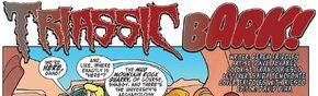 Triassic Bark! title card