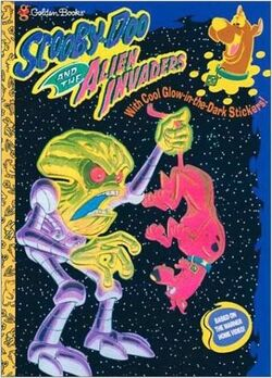 Alien Invaders Golden Books