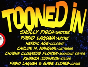 Tooned In title card