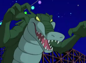Gator Ghoul (Cyber Chase)