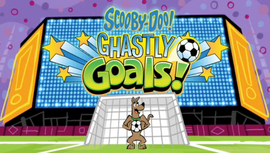 Ghastly Goals! title card