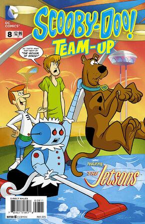 TU 8 (DC Comics) cover