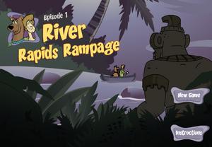 River Rapids Rampage title card