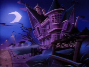 Count Shockula's home