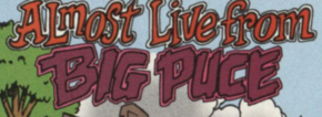 Almost Live from Big Puce title card