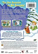 Scooby-Doo Winter Wonder Dog DVD Back Cover