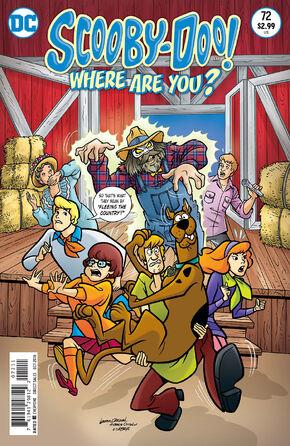 WAY 72 (DC Comics) cover
