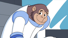 Reggie (Space Ape at the Cape)