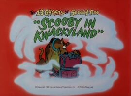 Kwackyland title card