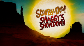 Shaggy's Showdown title card