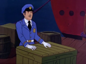 Police officer (Don't Go Near the Fortress of Fear)
