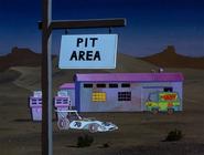 Pit area