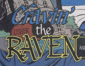 Cravin' the Raven title card
