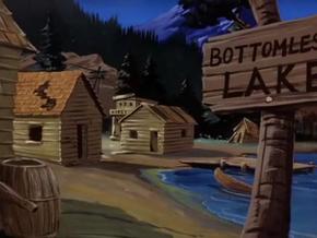 Bottomless Lake Village