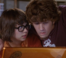 Shaggy Rogers and Velma Dinkley (Nick Palatas and Hayley Kiyoko)