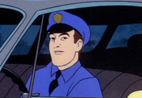 Police officer (The Backstage Rage)