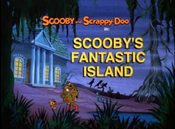 Scooby's Fantastic Island title card
