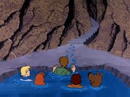 Underwater cavern (A Tiki Scare is No Fair)