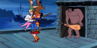 Scooby's Night with a Frozen Fright