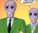 Unnamed alien agents