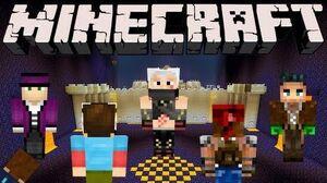 Minecraft - Castle Attack, Castle Defend