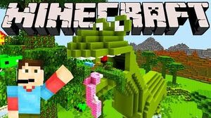 Minecraft Dinosaur Land!