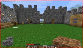 Archery castle