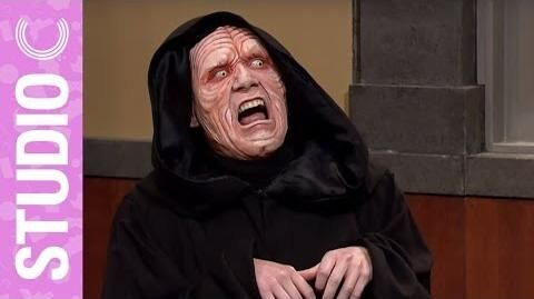 Darth Sidious in Star Wars Episode VII The Force Awakens