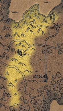 Dwarven hillsides map