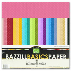File:Bazzill Basics - Dotted Swiss - 12 x 12 Cardstock Pack - 60 Sheets - Assorted.jpeg