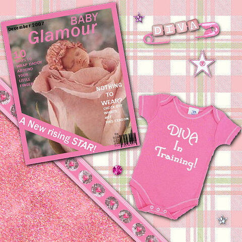 File:Baby Diva Digital Scrapbook Kit preview.jpeg
