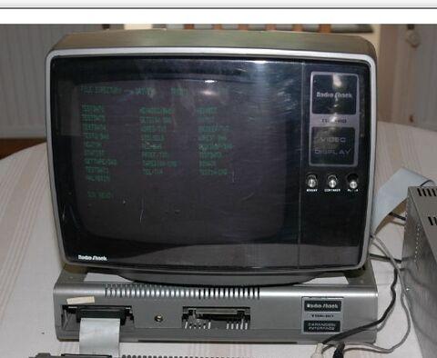 26-9202 TRS-80 Model 1 Monitor U.K.-220v(front)