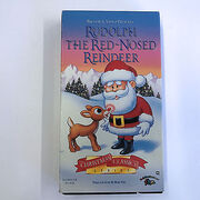 Rudolph-the-Red-Nosed-Reindeer-VHS-In-Sleeve-Pre-owned