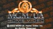 MGM UA Home Video Copyright Screen (2004 Variant)
