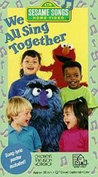 Opening to sesame songs presents we all sing together for House music 1993
