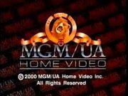 MGM UA Home Video Copyright Screen (2000)