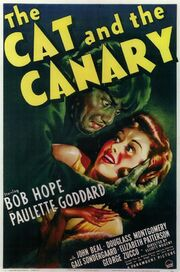1939 - The Cat and the Canary Movie Poster