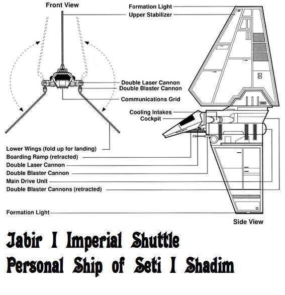 Jabir I Imperial Shuttle