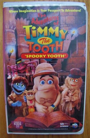 File:The Adventures of Timmy the Tooth Spooky Tooth VHS.JPG