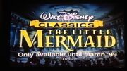 The Little Mermaid UK VHS Preview