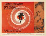 1958 - Vertigo Movie Poster
