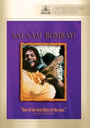 1988 - Salaam Bombay DVD Cover (2014 MGM Limited Edition Collection)