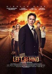 2014 - Left Behind Movie Poster