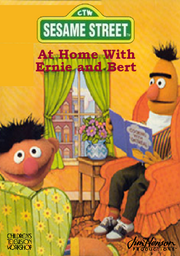 At Home With Ernie and Bert VHS Cover